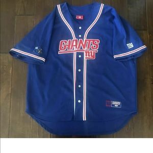 Vintage New York Giants Stitched Baseball Jersey